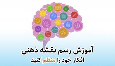 آموزش نقشه ذهنی یا mind mapping
